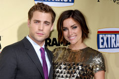Jessica Stroup,Dustin Milligan Royalty Free Stock Photo