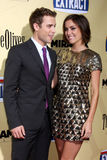 Jessica Stroup,Dustin Milligan Stock Photos