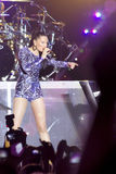 Jessie J`s concert stock photo