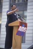 Jessie Jackson som talar på HJÄLPMEDEL, samlar, New York City, New York Royaltyfri Fotografi