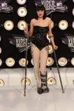 Jessie på MTV den videopd musiken 2011 tilldelar ankomster, Nokia teaterLA direkt, Los Angeles, CA 08-28-11 royaltyfri bild