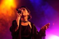 Jessie Ware, a British singer-songwriter Stock Photo