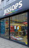 Jessops camera store closed down on High Street Putney in London Royalty Free Stock Images