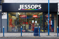 Jessops camera store closed down on High Street Putney in London Stock Photo