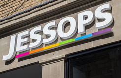 Jessops Store Royalty Free Stock Photography