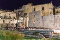 2 jest świątynia Apollo Obrazy Royalty Free
