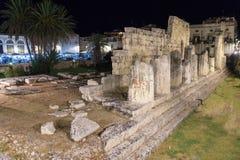 2 jest świątynia Apollo Zdjęcie Royalty Free