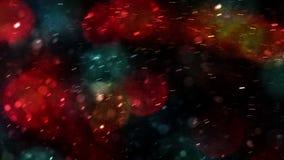 jest święta bożego daru Santa Claus nocy ilustracyjnego wektora zdjęcie wideo