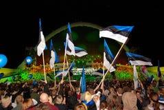 jest dumny estonian Fotografia Stock