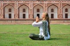 jest humayun grobowiec Delhi, Ind obraz stock