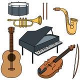 Jest istna duszy muzyki zawartość ilustracji