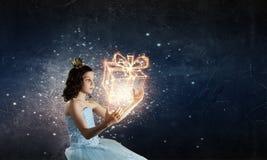Jest ślicznym princess Fotografia Royalty Free