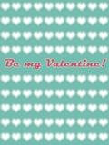 Jest mój valentine kartą 01 ilustracji