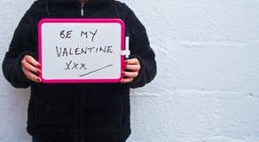 Jest mój valentine prośbą Zdjęcia Stock