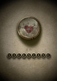 Jest mój valentine steampunk Fotografia Stock