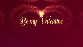 Jest m?j Valentite mi?o?ci wyznaniem Walentynka dnia serce robi? czerwonego wina plu?ni?cie pojawia? si? Zamazany pocz?tek Wtedy ilustracja wektor
