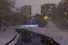 jest może target1583_0_ ilustraci krajobrazowa noc używać zima twój Zdjęcie Stock