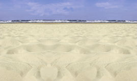 jest na plaży usedom Obrazy Stock