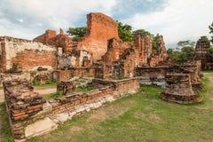 Jest pospolitym krótkim imieniem kilka znacząco Buddyjski templ Wat Mahathat świątynia Wielka relikwia Wielki relikwiarz lub świą Obrazy Royalty Free