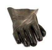 jest pracownik rękawiczek Zdjęcia Royalty Free