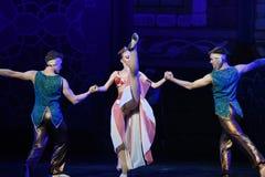 """Jest sprawnie dokonywać sukcesu jeden sposób lub innego baletniczego """"One Nights† Tysiąc i Jeden Obraz Royalty Free"""