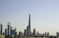 jest wysoki budynek Dubaju Obraz Royalty Free