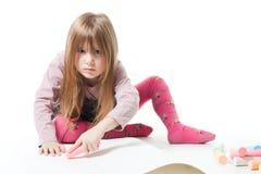 jest zakłóca wykładowca dziewczyny mały t no nie Zdjęcia Stock