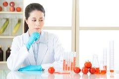 Jesteś ja ty pewny jesteś bezpieczny jeść genetycznego modyfikaci jedzenie obraz royalty free