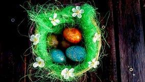 Jesteś ty przygotowywający dla Wielkanocnego świętowania? Obraz Stock