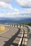 Jested. Way to Jested mountain,Czech Republic Stock Photos