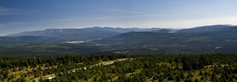 Jested mountain in Liberec Royalty Free Stock Photography