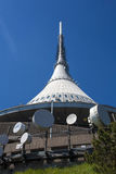 Jested tower. Liberec, Czech republic Stock Photo