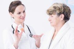Jestem bardziej niż pewny ten medycyna pomaga ciebie Obrazy Stock