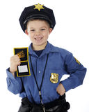 Jestem policjantem! Obrazy Stock