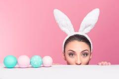 Jestem przyglądający dla jajek! Obraz Stock