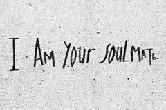 Jestem twój soulmate Obraz Royalty Free