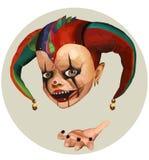 Jester Στοκ εικόνα με δικαίωμα ελεύθερης χρήσης
