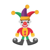 Jester april fools day Royalty Free Stock Photo