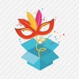 Jester carnival design. Illustration eps10 graphic Royalty Free Stock Image