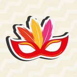 Jester carnival design. Illustration eps10 graphic Royalty Free Stock Photos