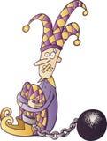 Jester censurado Imagens de Stock Royalty Free