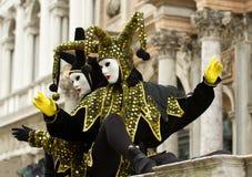 Jester costume Stock Photo