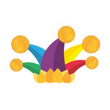 Jester hat april fools day Royalty Free Stock Photo