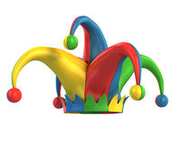 Jester hat isolated Stock Image