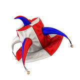 Jester hat isolated on white background. Stock Images
