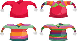 Jester hat vector. Jester hat of isolated illustration vector Royalty Free Stock Images