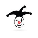 Jester head smile vector Royalty Free Stock Photo