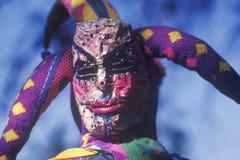 Jester at Renaissance Faire, Agoura, California Stock Image