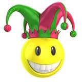Jester smiley Stock Photo