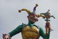 Jester Statue stock foto's